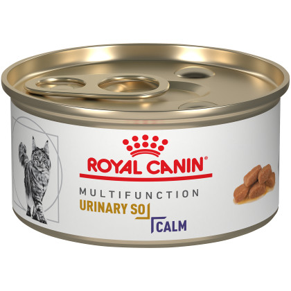 Royal Canin Veterinary Diet Feline Urinary SO + Calm Canned Cat Food