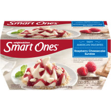 Smart Ones Raspberry Cheesecake Sundae Frozen Dessert 4 - 2.11 oz Cups