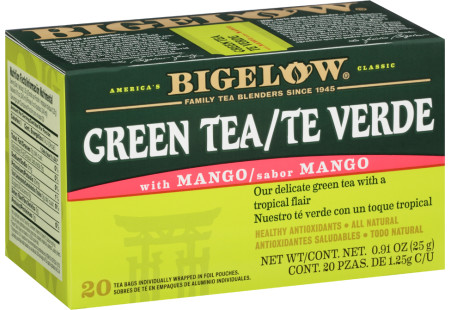 Te Verde con Mango - Case of 6 boxes- total of 120 teabags