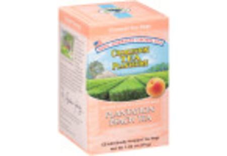 Peachy Peach Tea  Pyramid Bags- Case of 6 boxes- total of 72 teabags