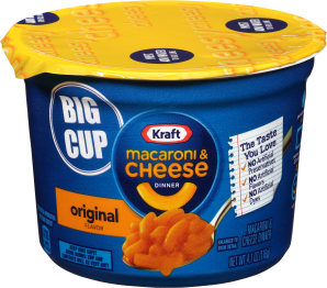 Kraft Original Flavor Macaroni & Cheese Dinner 4.1 oz. Microcup image