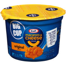 Kraft Easy Mac Original Flavor Macaroni & Cheese Dinner 8 - 4.1 oz Microwavable Tubs