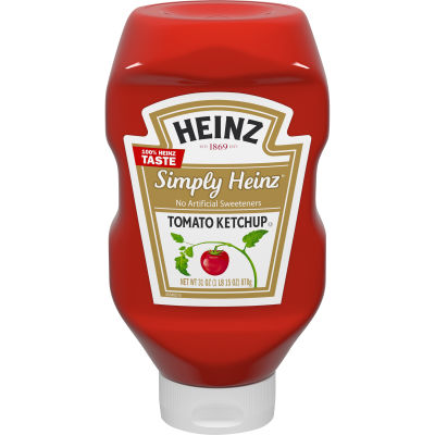 Heinz Simply Heinz Tomato Ketchup, 31 oz Bottle