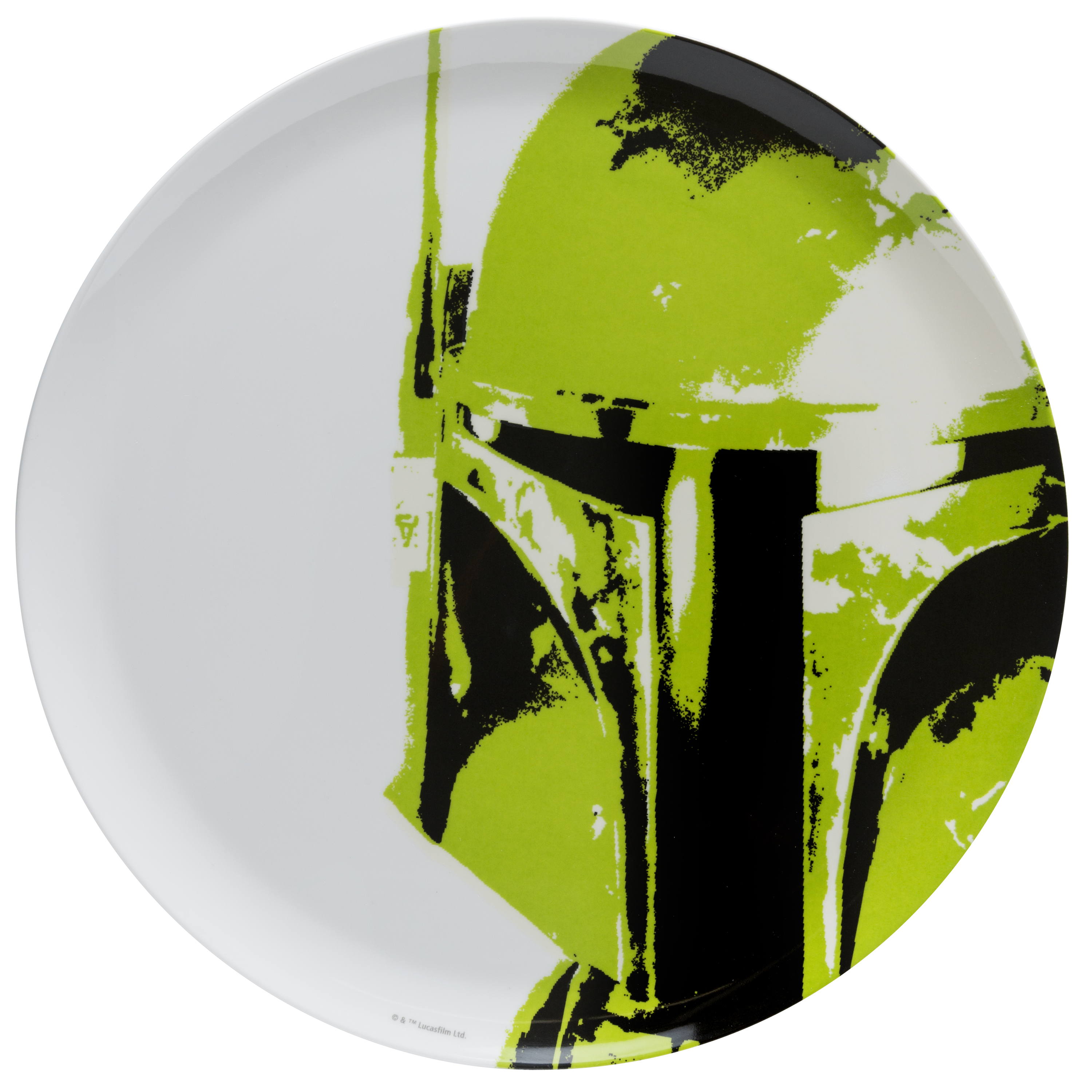 Star Wars Kids Plate, Boba Fett slideshow image 1