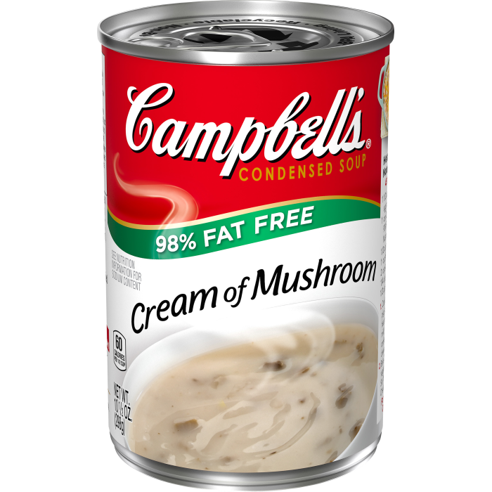 98% Fat Free Cream of Mushroom Soup