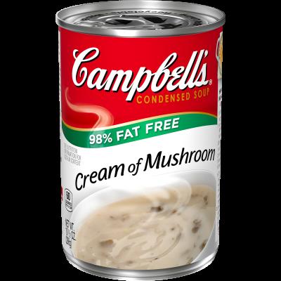 98% Fat Free Cream of Mushroom Soup