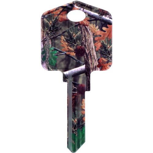 Deep Woods Black Bear Key Blank Kwikset 66/97 KW1/10