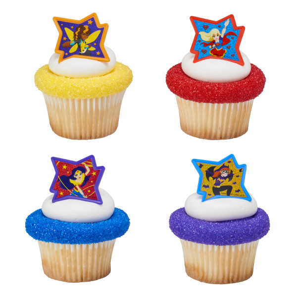 DC Super Hero Girls™ Just Be Awesome! Cupcake Rings
