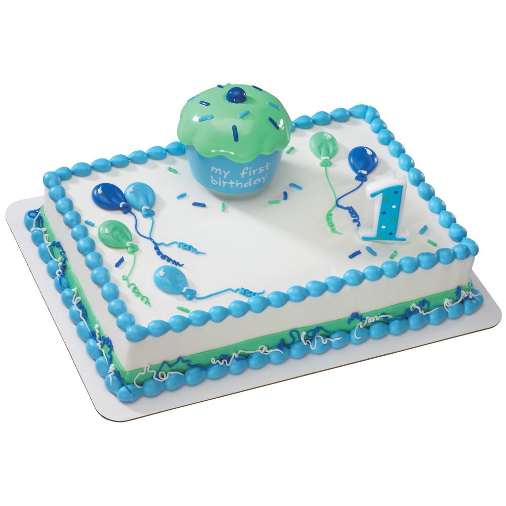 Cupcake Keepsake Blue