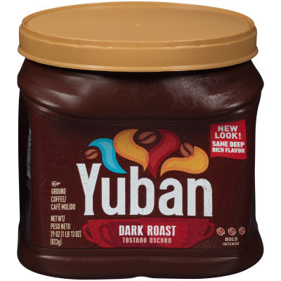 Yuban Dark Roast Ground Coffee 29 oz Canister