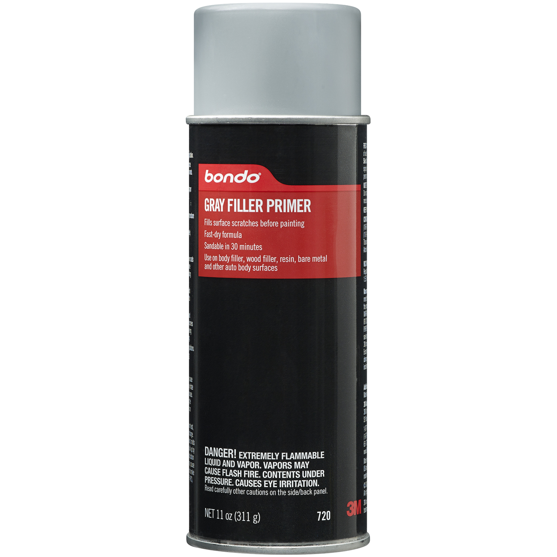 Bondo® Gray Filler Primer, 00720, 11 oz, 6 per case