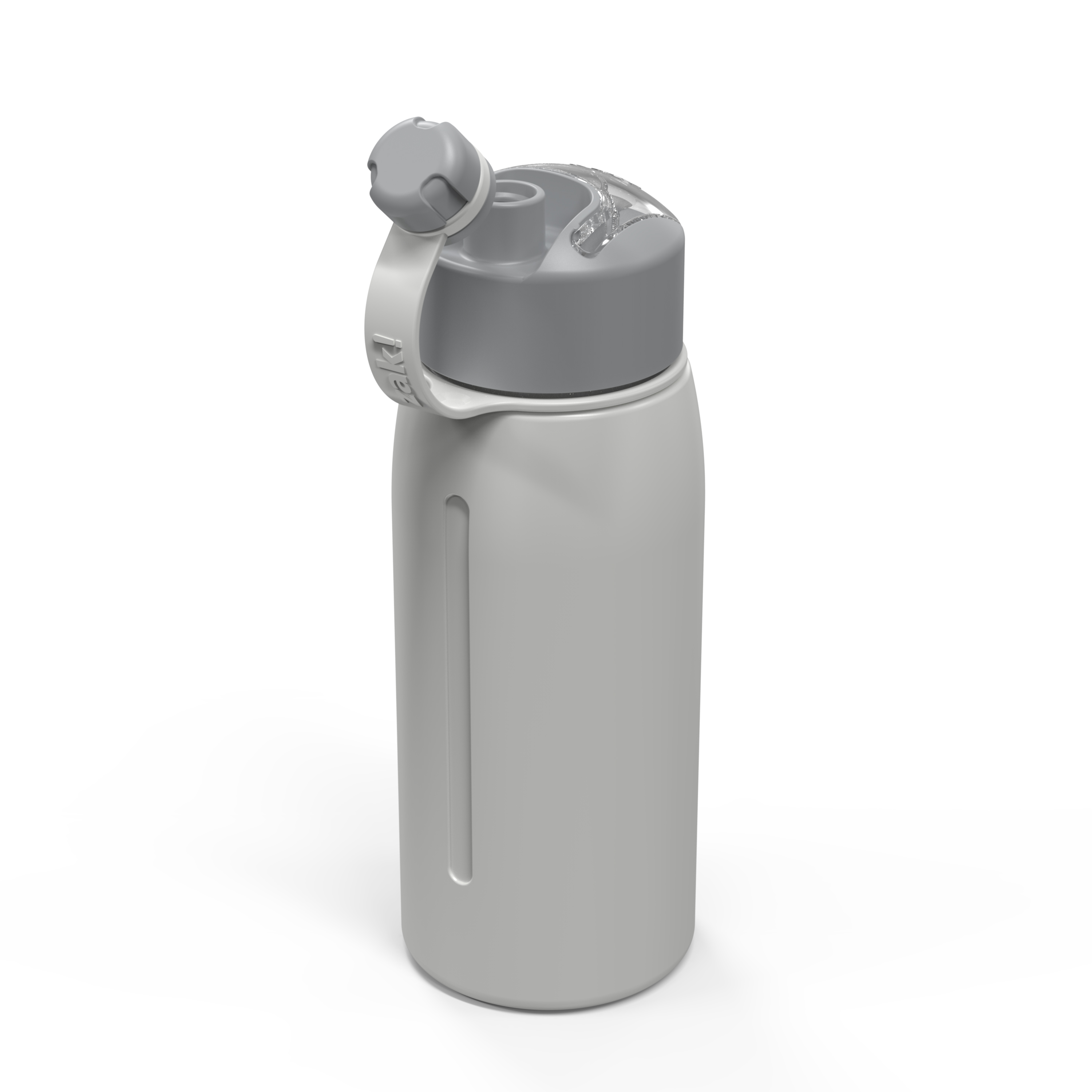 Genesis 24 ounce Vacuum Insulated Stainless Steel Tumbler, Gray slideshow image 6
