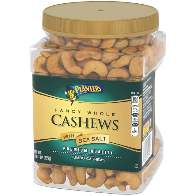 PLANTERS Fancy Cashews 33 oz Jar