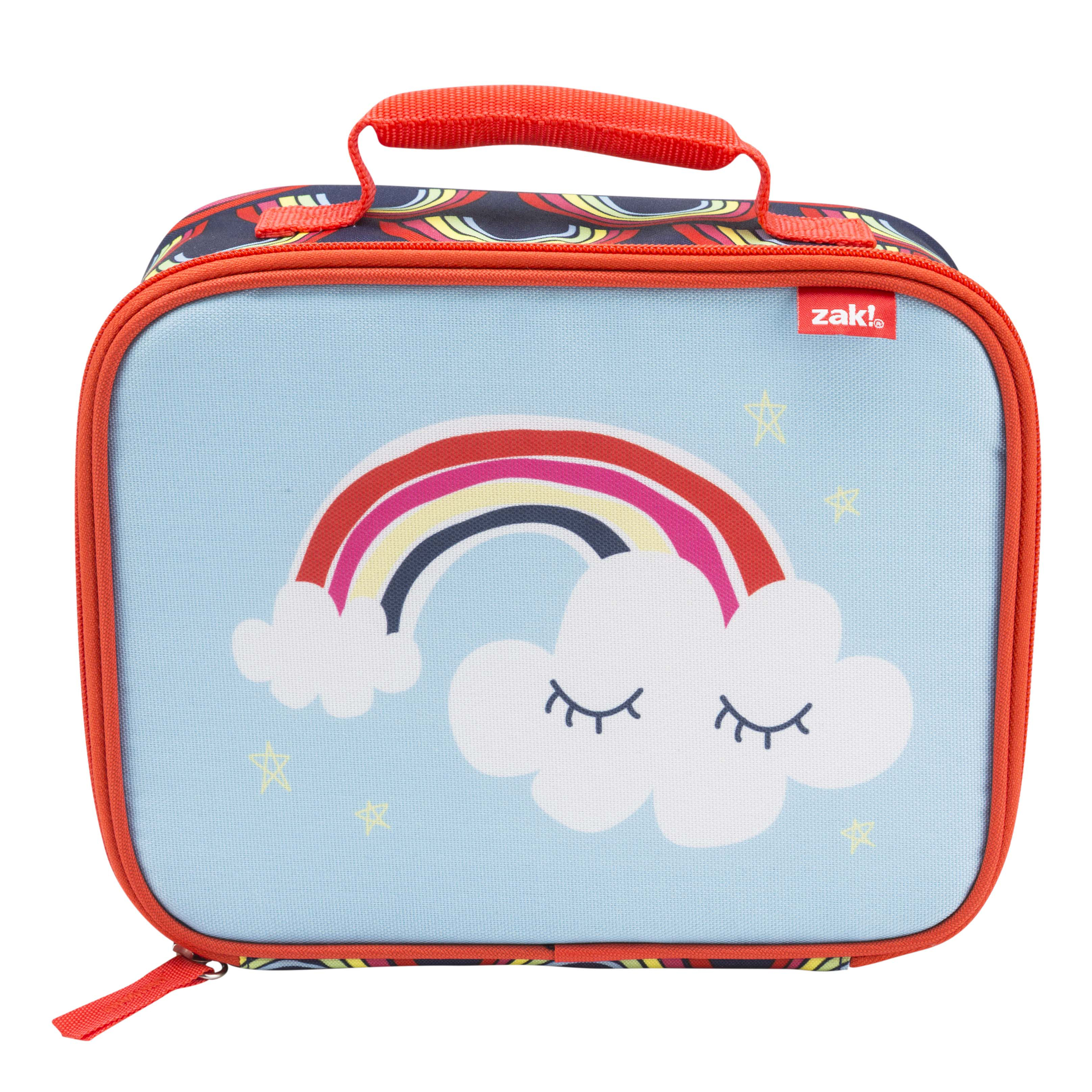 Happy Things Insulated Reusable Lunch Bag, Clouds slideshow image 2