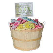 Bellingham Wooden Basket Exceptionally Cool™ Assorted Patterns, 72 Pairs