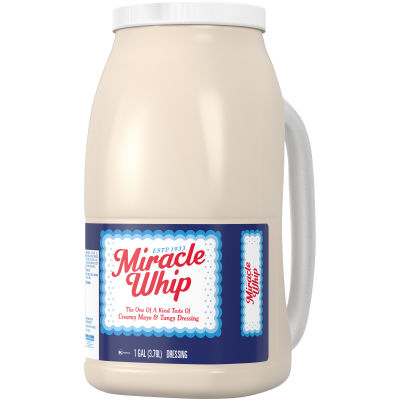 KRAFT MIRACLE WHIP Dressing Original 1 gal Jug