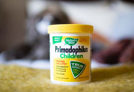 Healthy Digestive Flora for Your Little Ones*