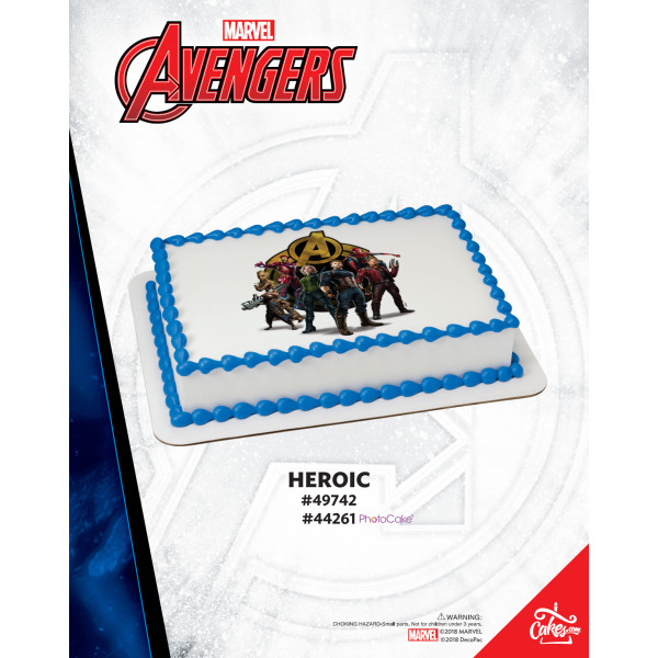 Marvel's Avengers Infinity War - Heroic The Magic of Cakes® Page