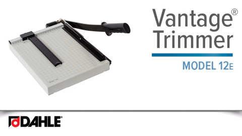 Dahle Vantage® 12e Trimmer Video