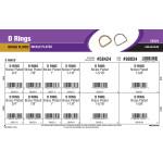 Brass & Nickel-Plated D Rings Assortment