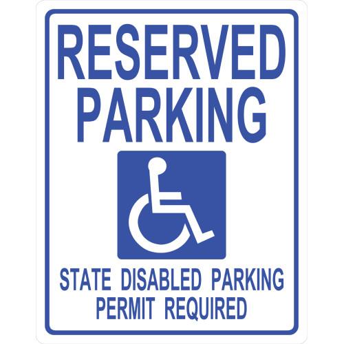 Handicapped Parking Sign (19