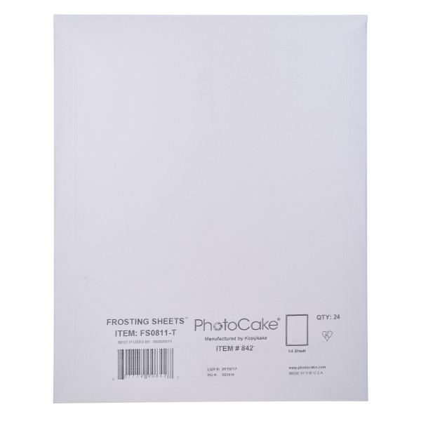 Frosting Sheets 1/4 Sheet Media PCMD