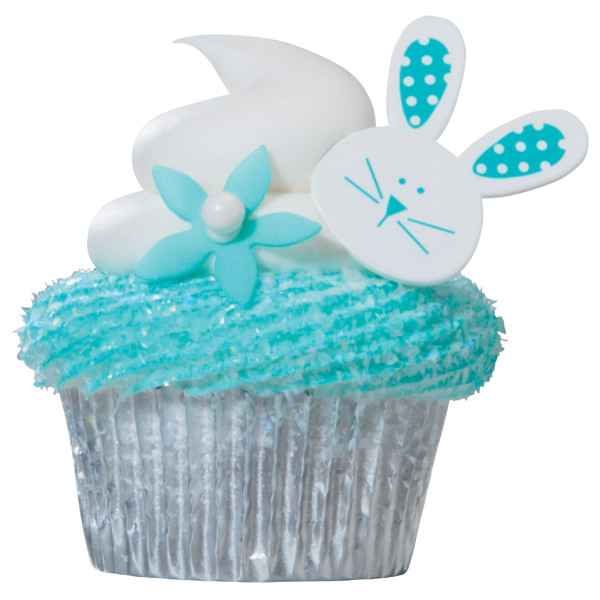 Bunny and Tails Cupcake Rings