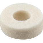 "Extra-Thick White Felt Washer (1/4"" x 7/8"" Slips 1/8 IPS)"