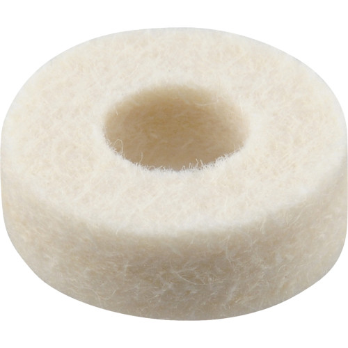 Extra-Thick White Felt Washer (1/4