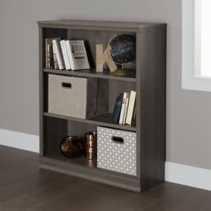 Morgan - 3-Shelf Bookcase