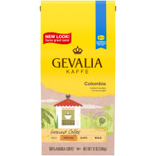 Gevalia Colombia Ground Coffee 12 oz Bag