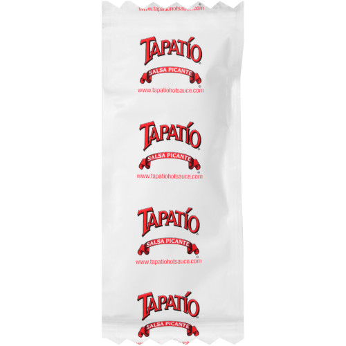TAPATIO Single Serve Hot Sauce, 7 gr. Packets (Pack of 500)