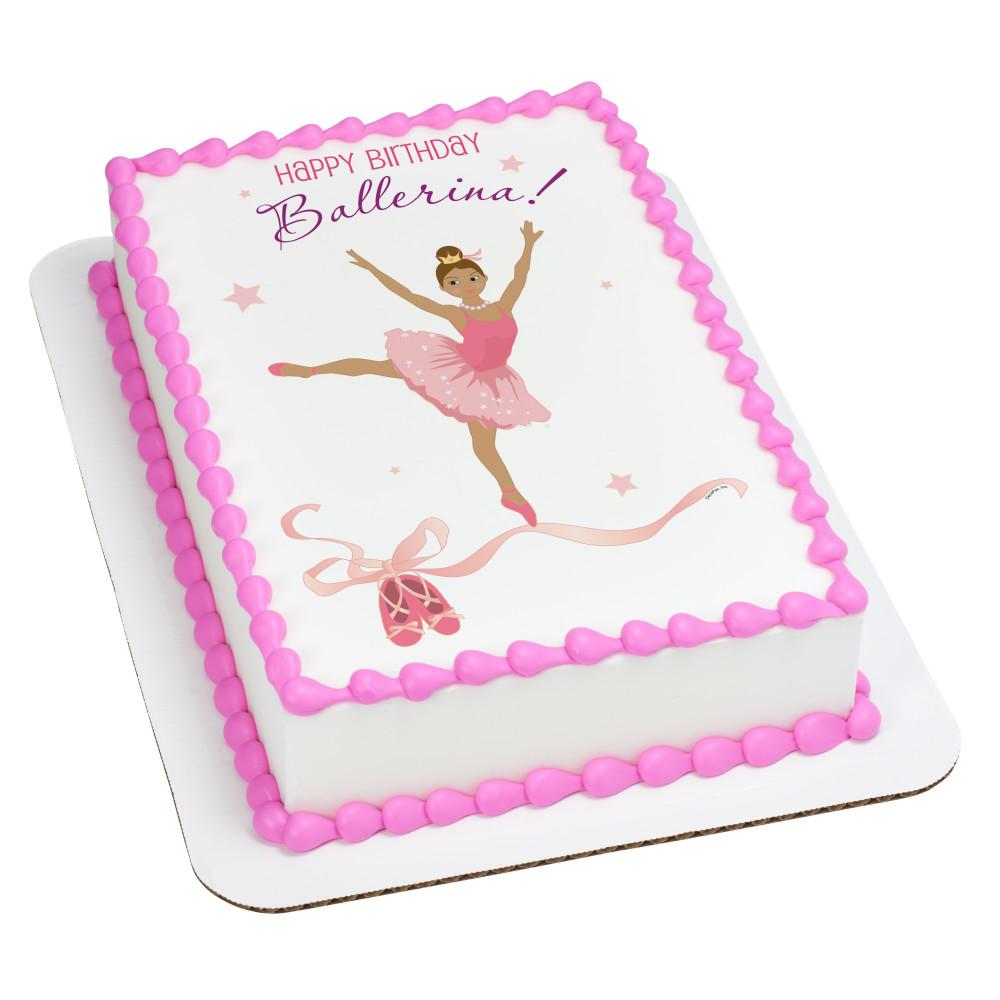 Birthday Ballerina Hispanic