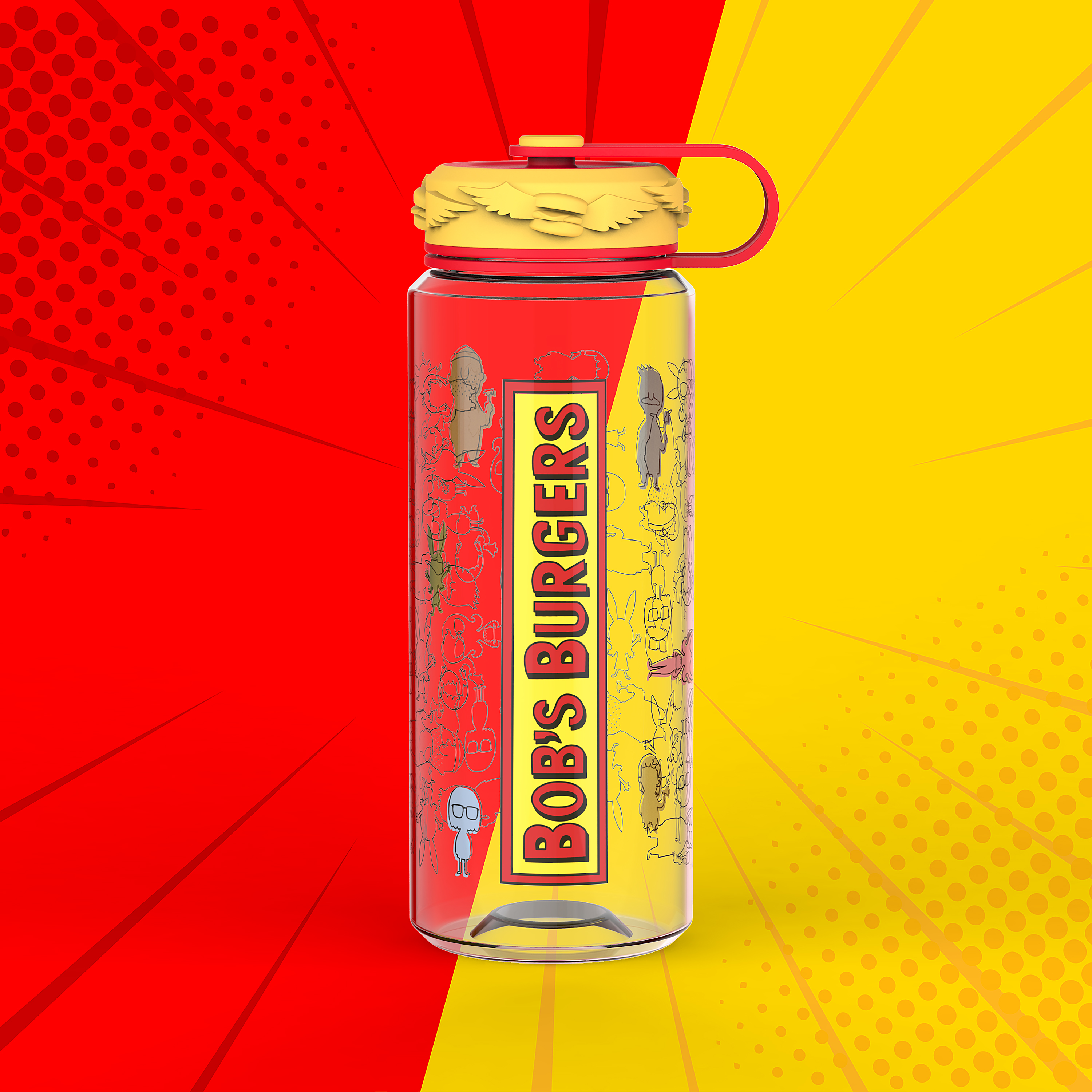 Bobs Burgers 36 ounce Water Bottles, The Belcher Family slideshow image 9