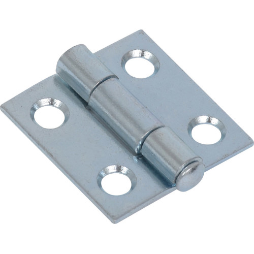 Hardware Essentials Light Narrow Door Hinges and Removable Pin 1
