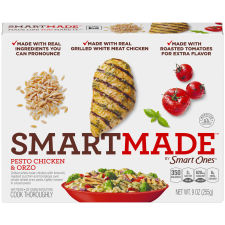 Smart Ones Smart Made Pesto Chicken & Orzo 9 oz Box