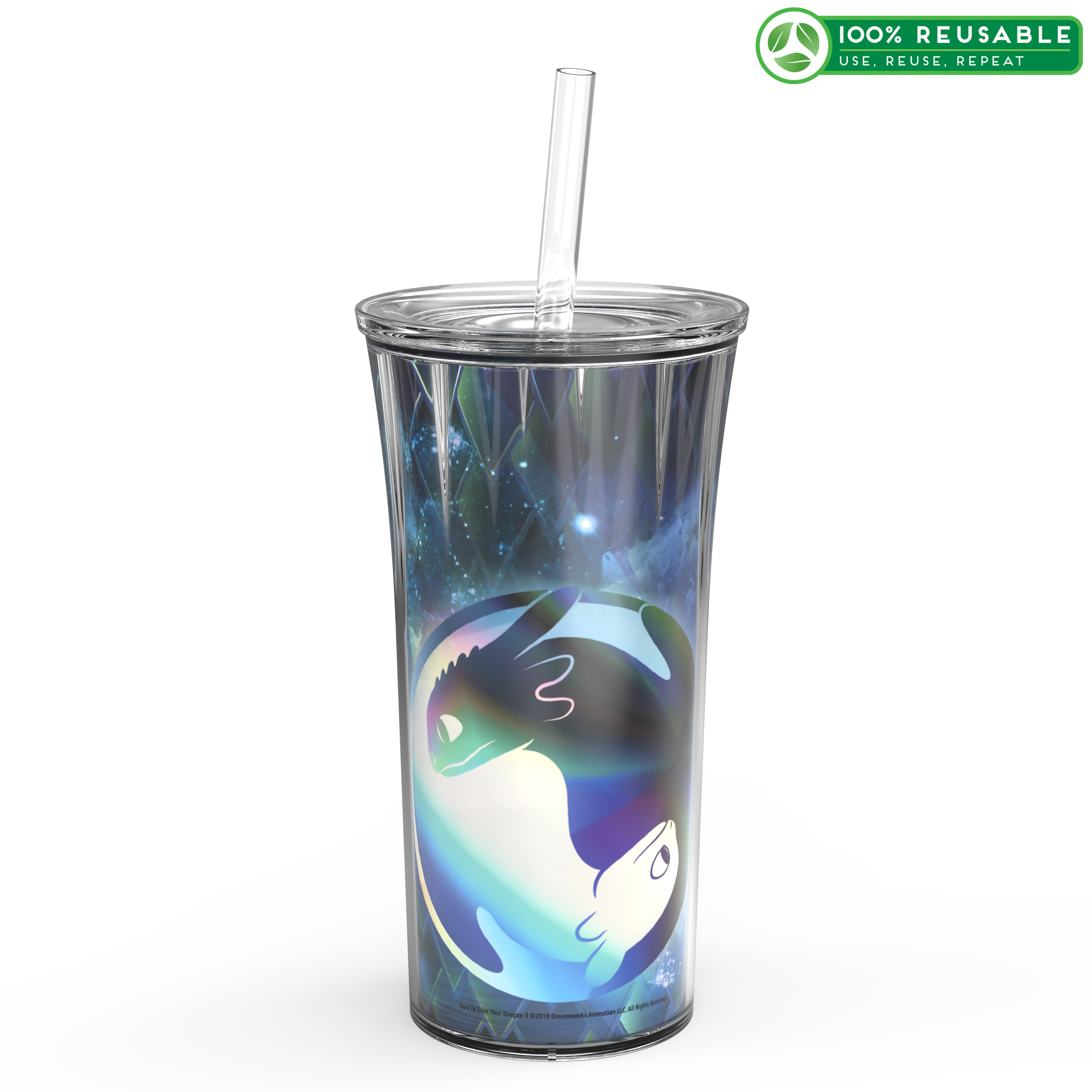 Dreamworks Animation 20 ounce Insulated Tumbler, How to Train Your Dragon 3 slideshow image 1