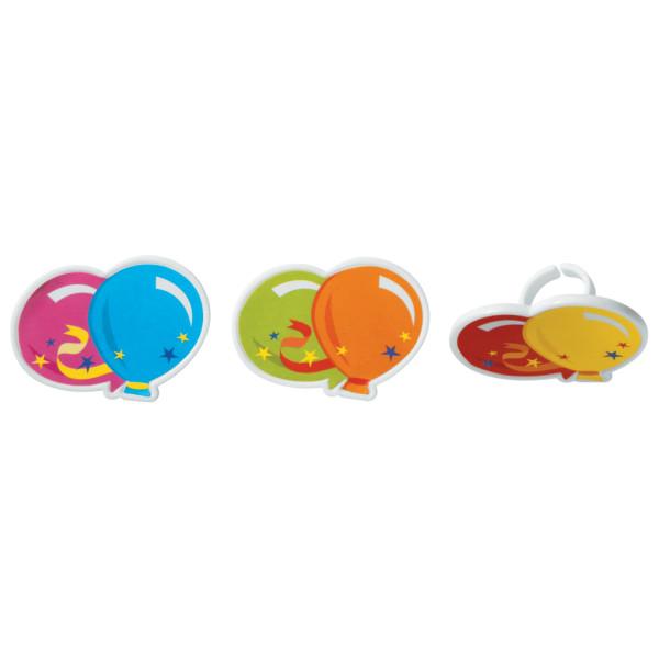 Balloons Cupcake Rings