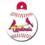 St. Louis Cardinals Large Circle ID Spot Tag