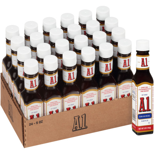 A.1. Single Serve Steak Sauce, 5 oz. Packets (Pack of 24)