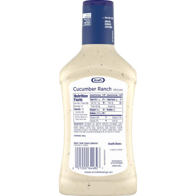 Kraft Cucumber Ranch Dressing 16 fl oz Bottle