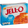 Jell-O Orange Sugar Free Gelatin, 0.6 oz Box