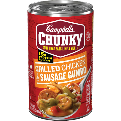 Grilled Chicken & Sausage Gumbo