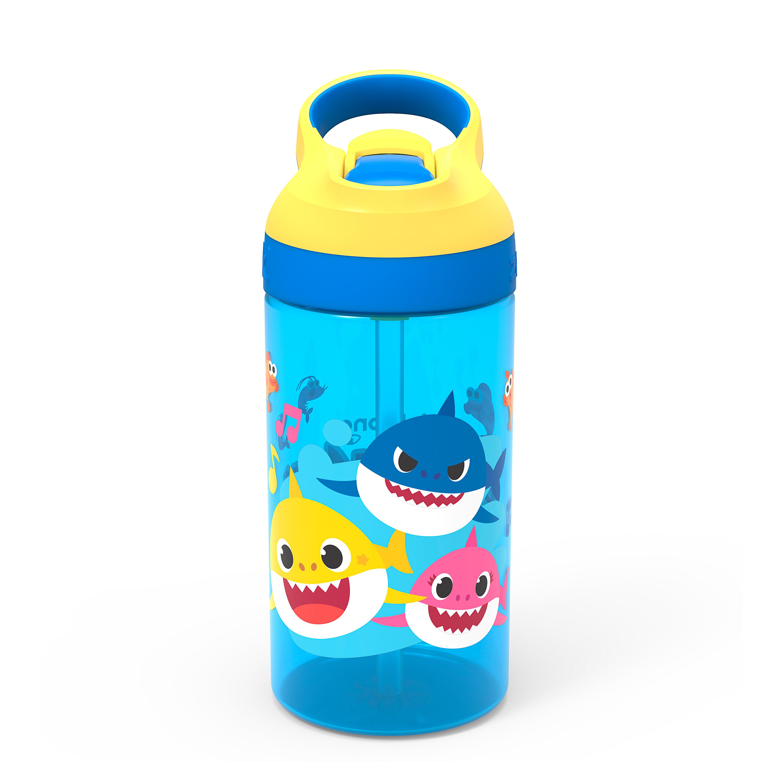 Baby Shark 16 ounce Water Bottle, Underwater Friends slideshow image 1
