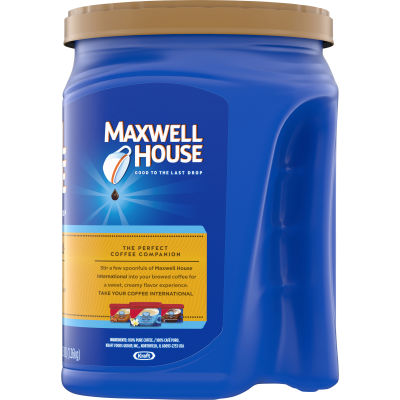 Maxwell House Master Blend Light Roast Ground Coffee 44.5 oz Canister
