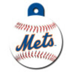 New York Mets Large Circle Quick-Tag