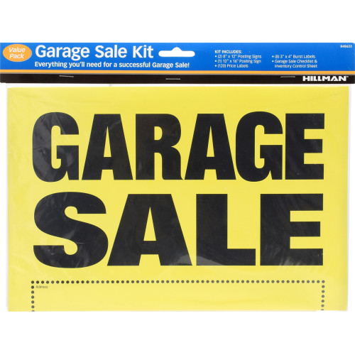 Garage Sale Kit, 8