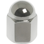 Deep Drawer Chrome Special Acorn Nuts