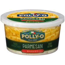 Polly-O Parmesan Shaved Cheese 5 oz Tub