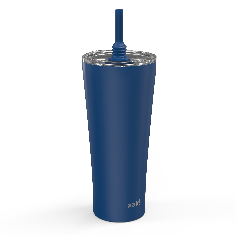 Alfalfa 30 ounce Vacuum Insulated Stainless Steel Tumbler, Indigo slideshow image 1